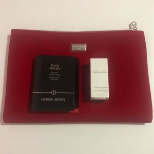 New Giorgio Armani Velvet Makeup Bag